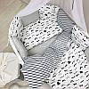 Комплект в овальную детскую кроватку Baby Design Усы (7 предметов), фото 8