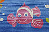 """Ковер для детской комнаты """"Рыбка"""". Купить детский ковер онлайн, фото 2"""