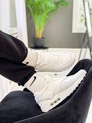 """Мужские кроссовки Nike WMNS Air Max 1-100 """"White"""" (копия)"""