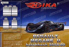 Авточехлы Renault Megane II 2002-2009 (хэтчбек) Nika