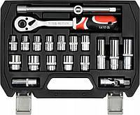 Профессиональный набор инструмента торцевых головок  Yato YT- 38691 на 20 ед.