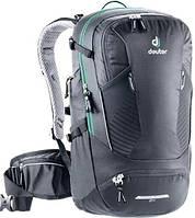 Велосипедный рюкзак Deuter Trans Alpine черный 24 л