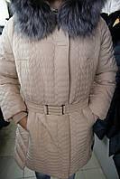Куртка женская зимняя HAILUOZI 15-096/Бежевый