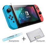 Закаленное защитное стекло Baseus для Nintendo Switch / Есть чехлы, фото 2