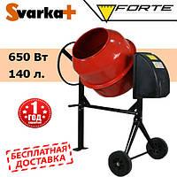 Бетономешалка FORTE EW6140P  ( 650 Вт, 140 л. )