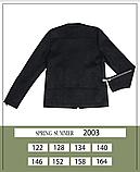 Тонкая замшевая куртка для девочки тм Моне р-ры 146,152,158,164, фото 3