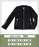 Тонкая замшевая куртка для девочки тм Моне р-ры 146,152,158,164, фото 4