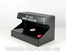 Детектор валют настільний Money Detector AD-118AB,ультрафіолетова лампа для водяних знаків, фото 3