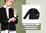 Тонкая замшевая куртка для девочки тм Моне р-ры 146,152,158,164, фото 2