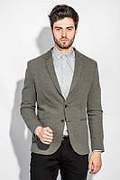 Пиджак 197F027 цвет Серый