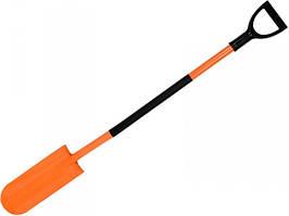 Лопата штыковая с металлической ручкой Flo 14.5х35 см