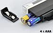 Детектор валют, портативний ультрафіолетовий детектор купюр,валют,банкнот, Лампа для перевірки грошей, фото 3