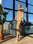 Жіночий брючний костюм: подовжений двобортний піджак та брюки з високою посадкою (3 кольори), фото 10