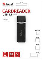 TRUST Картридер Nanga USB 3.1 Nanga USB 3.1 Cardreader