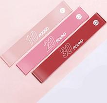 Набор эластичных резинок для фитнеса Xiaomi Yunmai Energy Elastic Ring Pink (YMRB-L600) 3 шт.