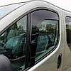 """Дефлекторы окон Renault Trafic/Opel Vivaro 01-14 передок вставной """"HEKO"""" 27144, фото 2"""