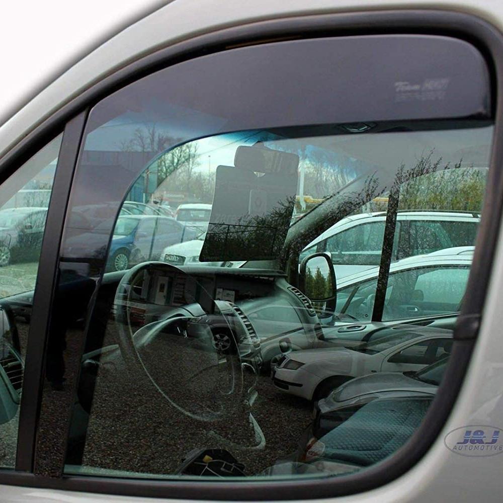 """Дефлекторы окон Renault Trafic/Opel Vivaro 01-14 передок вставной """"HEKO"""" 27144"""