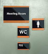 Таблички на дверь туалета для инвалидов, фото 2