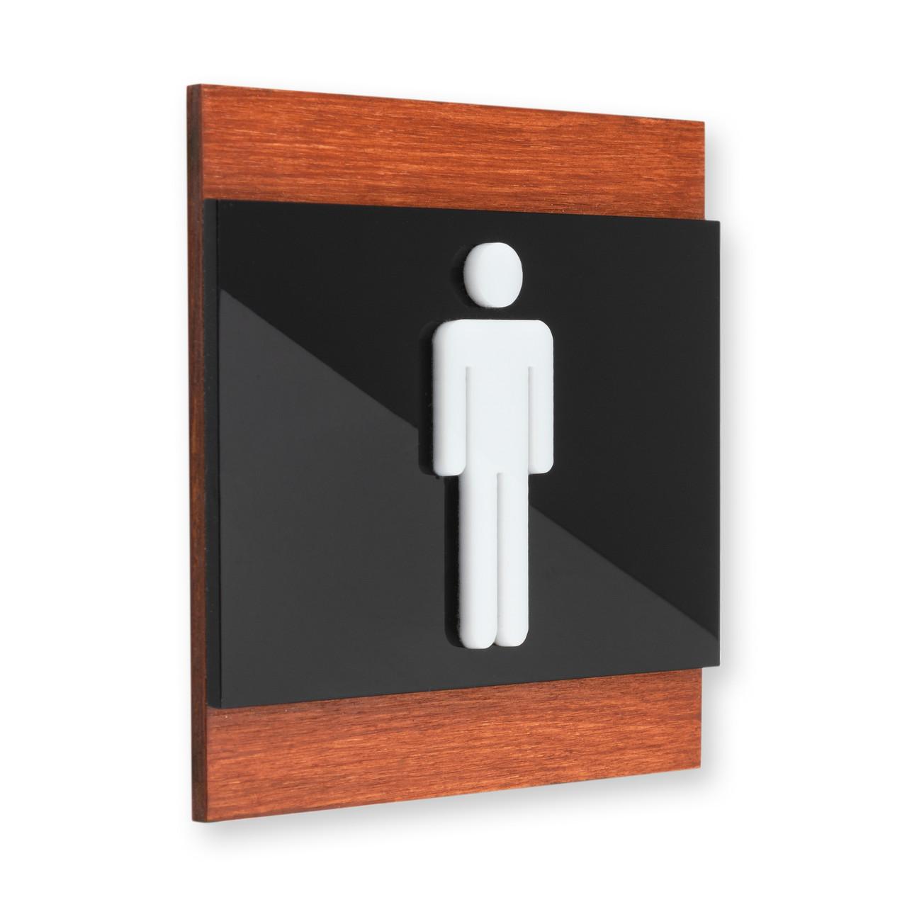Таблички на дверь мужского туалета