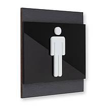 Таблички на дверь мужского туалета, фото 3