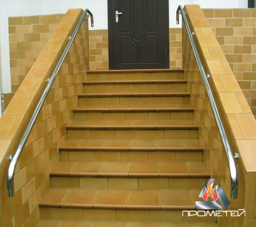 Поручні для сходів з нержавіючої сталі