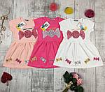 Платья детские летние трикотажные № 31349
