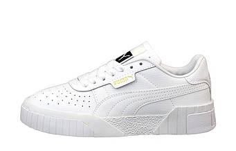 """Мужские кроссовки Puma Cali """"White"""" (копия"""