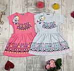 Платья детские летние трикотажные № 31347