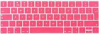 """Накладка на клавиатуру MacBook Pro 13""""A1989/A1706 Pro 15"""" A1990/A1707 EU розовая с английскими буквами, фото 1"""