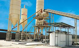 Стационарный бетонный завод USC 100 Umman