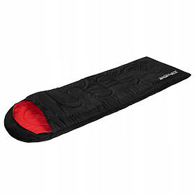 Спальный мешок SportVida SV-CC0004 Black/Red