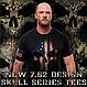 Футболка мужская патриотическая   Дух воина  7.62 Design USMC Woodland MARPAT Skull, фото 4