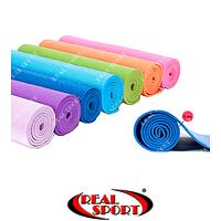 Коврик для фитнеса и йоги Yoga Mat FI-4986