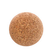 Мяч массажный Ball Rad Roller 6,5 см пробковое дерево для самомассажа спины, йоги, фитнеса (FI-1568)