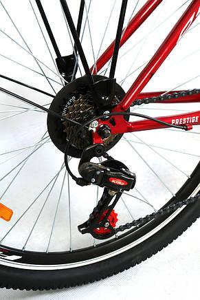 """Велосипед городской женский 26"""" Discovery Prestige Woman 2021 рама 17"""" рубиновый, фото 2"""