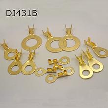 Наконечники кольцевые разрезные без изоляции DJ431B (1-1,5mm2)