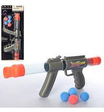 5322 Игрушка Помпа 39см, шарики(мягкие) 5шт, на листе, 20-51-5см