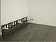 Плинтус Dekor Plast LL004 Аруша Светло-серыйп ластиковый,напольный двухсостовной с кабель-каналом, фото 3
