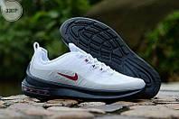Мужские кроссовки Nike Air Max Axis White/Gray, фото 1
