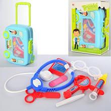 KM8414D-2 Доктор   мед.инструменты,очки,чемодан(колеса+ручка)-машина,в кор-ке,22,5-32,5-12см