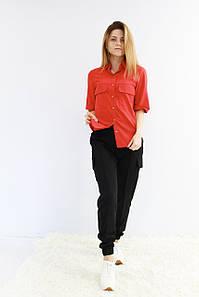 Жіноче блуза короткий рукав