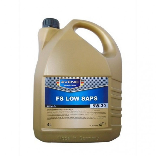Синтетичне моторне масло AVENO FS Low SAPS 5W-30 4л