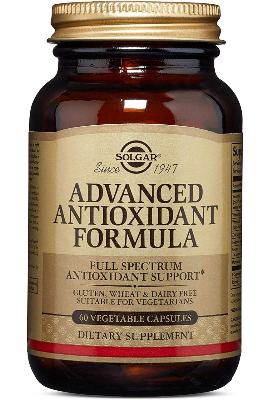 Solgar Advanced Antioxidant Formula 60 veg caps