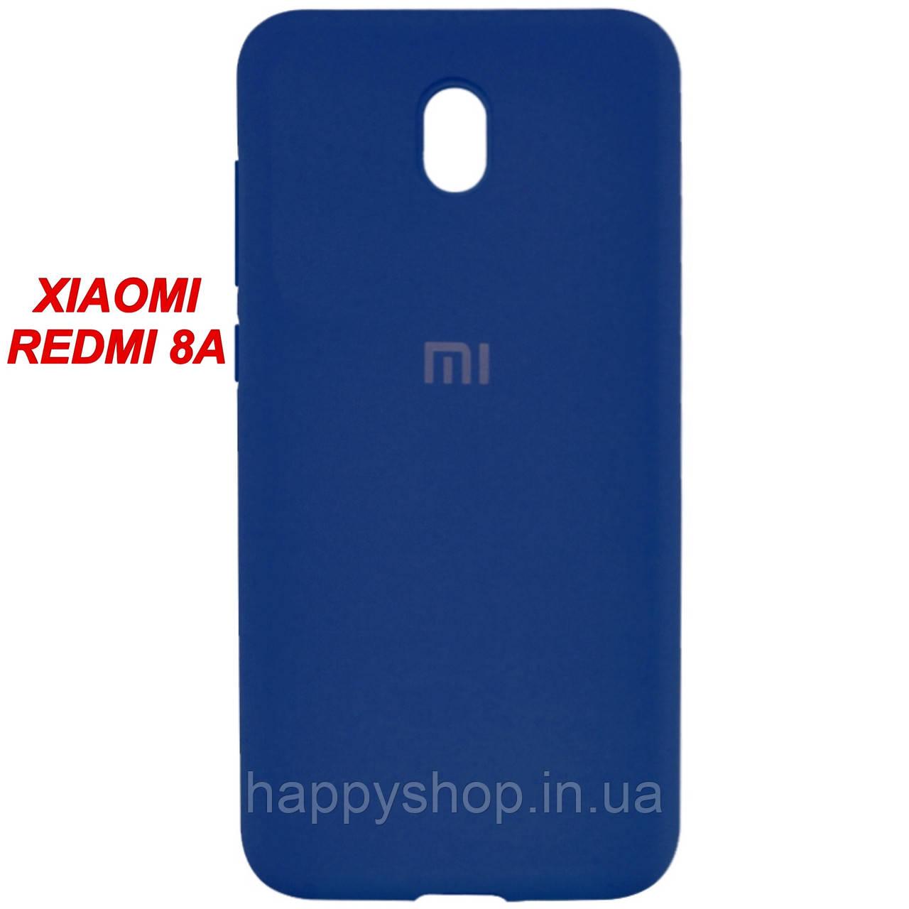 Оригінальний чохол для Xiaomi Redmi 8a (Синій/Navy Blue)