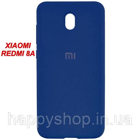Оригінальний чохол для Xiaomi Redmi 8a (Синій/Navy Blue), фото 2