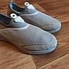 Серые аквашузы женские серебряные аква обувь кроссовки носки слипоны мокасины коралки без шнурков, фото 2