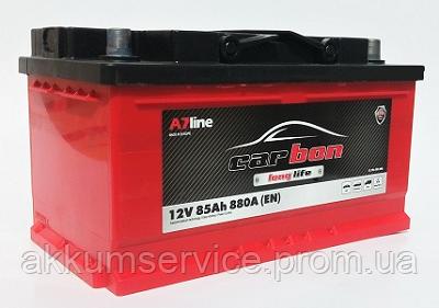 Аккумулятор автомобильный Carbon 85AH R+ 880A (CRB85-00L) sb_низкий