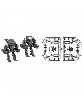 Загін UNL (УНЛ) 2 колекційні фігурки (колір металік / без коробки), Технолог