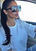 Трендовые очки маска женские YSL поляризованные