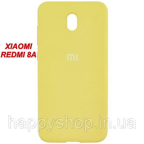 Оригинальный чехол для Xiaomi Redmi 8a (Желтый/Yellow), фото 2
